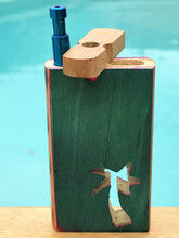 "BEST! 4"" Wood Dugout Palm Tree Cut Out Spring + FREE Push Down Bat DUG17 - Volo Smoke and Vape"