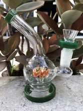 "Best Mini 5.5"" Glass Water Rig with 14mm Male Slide Bowl"