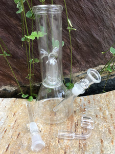 "8"" Glass Best Water Peculator Bong with Ice Catcher Quartz Bucket - Volo Smoke and Vape"