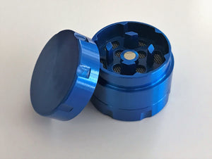 "3 Part Mini Metal Blue 1"" Grinder"
