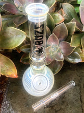 "New! Mini 7"" Quality Glass Water Bong Slide Stem with Bowl 4"" OG Glass Chillum"