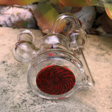 "Collectible! Killa Glass 7"" Water Rig w/14mm Male Bowl - Red Rider"