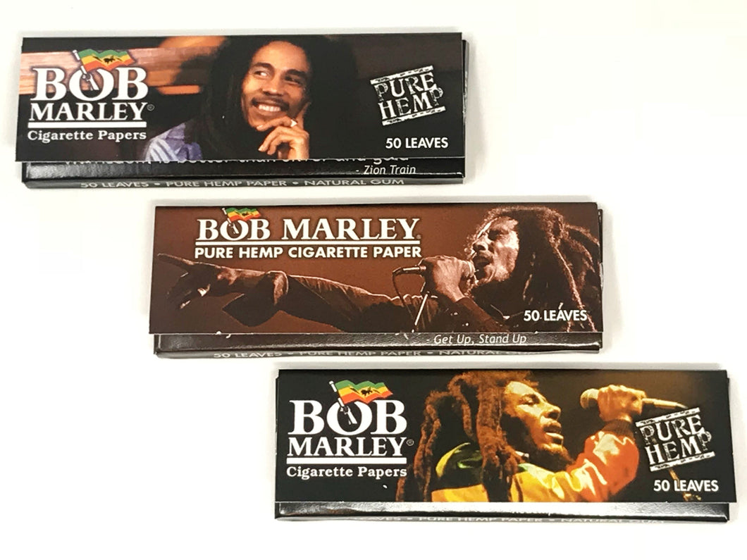 3 pack - Bob Marley Rolling Papers - Volo Smoke and Vape