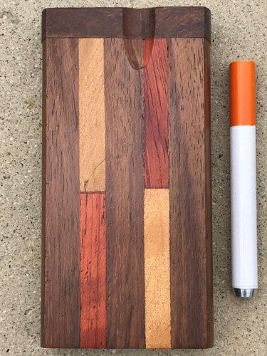 Premium Hardwood Inlay Dugout + FREE 1-hitter Alum. Bat - Volo Smoke and Vape