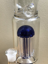 "16.5"" Thick Glass, Straight Neck Rig with 11 Arm Tree Perc, Honeycomb Perc, Ice Catcher & 14mm Quartz Banger"