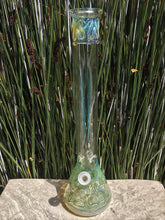 "18"" Fumed Glass Best Beaker Bong Ice Catchers 3 - Slide Bowls Plastic Grinder"