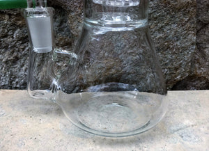 "Best 8.5"" Thick Glass Beaker Rig Shower & Dome Perc Ice Catchers 14mm - Grass"