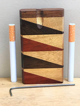 "Quality! 4"" Wood Tobacco Dugout/Stash Box with 2 Aluminum Bats & Cleaning Tool"