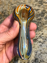 "Best Thick 4"" Fumed Glass, Spoon/Hand Pipe with Bowl"