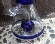 "Best 8"" Beaker Shower Perc Glass Water Bong Twisted Glass Neck 2 Slide Bowls"