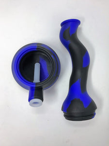 BEST! Silicone Detachable Zong Bong Silicone Herb Bowl 14mm/18mm Dual Use
