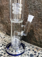"Best Heavy Thick Glass Rig 15.5"" Pipe 6 Shower Perc's Ice Catcher 3-18mm Bowls"