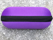 "Lavender 6.5"" Zipper Padded Pouch Hard Case Protective Smoking Pipe Storage - Volo Smoke and Vape"