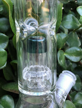 "16"" Thick Glass Beaker Bong Shower Perc & Dome Perc Ice Catchers 2 - 14mm Bowls"
