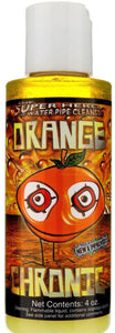 4 oz Bottle Orange Chronic Cleaner - Cleans Metal and Glass Pipe