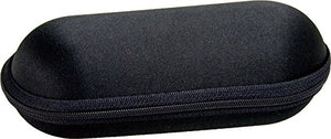 "6.5"" Zippered Padded Pouch - Black - Volo Smoke and Vape"
