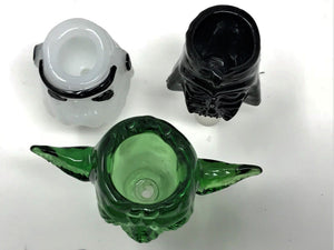 14mm Star Wars DarthVader, Storm Trooper, Yoda Bowls with FREE Screens - Volo Smoke and Vape