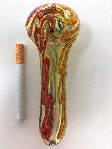 THICK Handmade Glass Tobacco Hand Rig 5