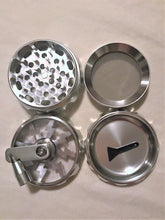 "2.5"" 4 Layer Aluminum Hand Crank Herb & Flower Grinder - Volo Smoke and Vape"
