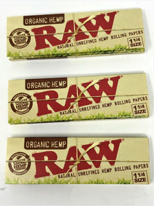 3 Pack Raw Rolling Papers - Volo Smoke and Vape