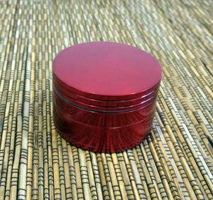 2'' Volo Herb Grinder - RED - Volo Smoke and Vape