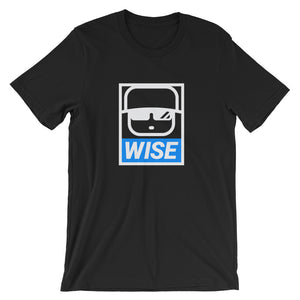 KID WISE TEE - LOGO BLUE
