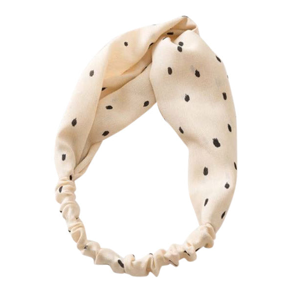 Soft Headband in Cream
