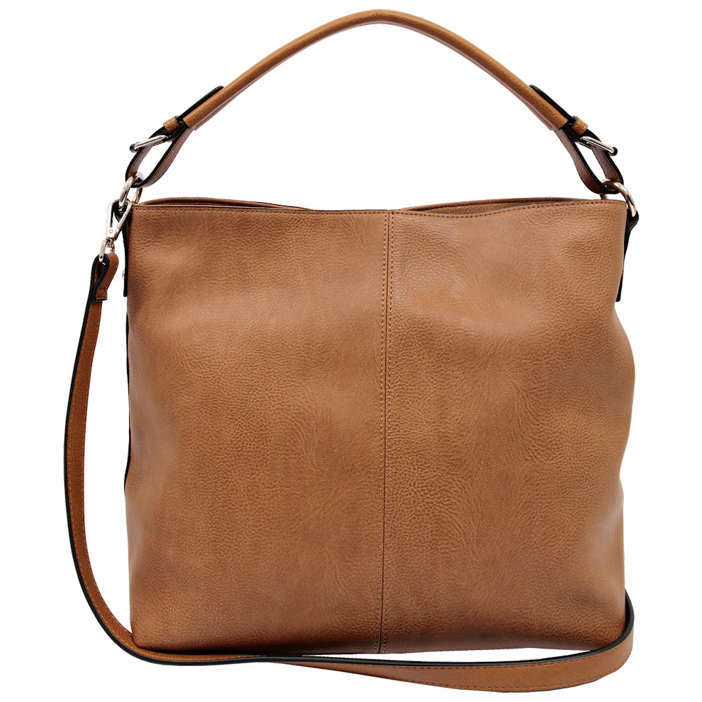 Polly Shoulder Bag in Tan