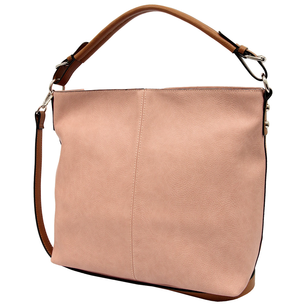 Polly Shoulder Bag in Pink