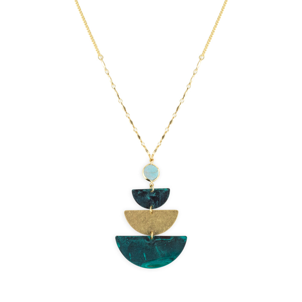 Smith Necklace by Mint and Moss