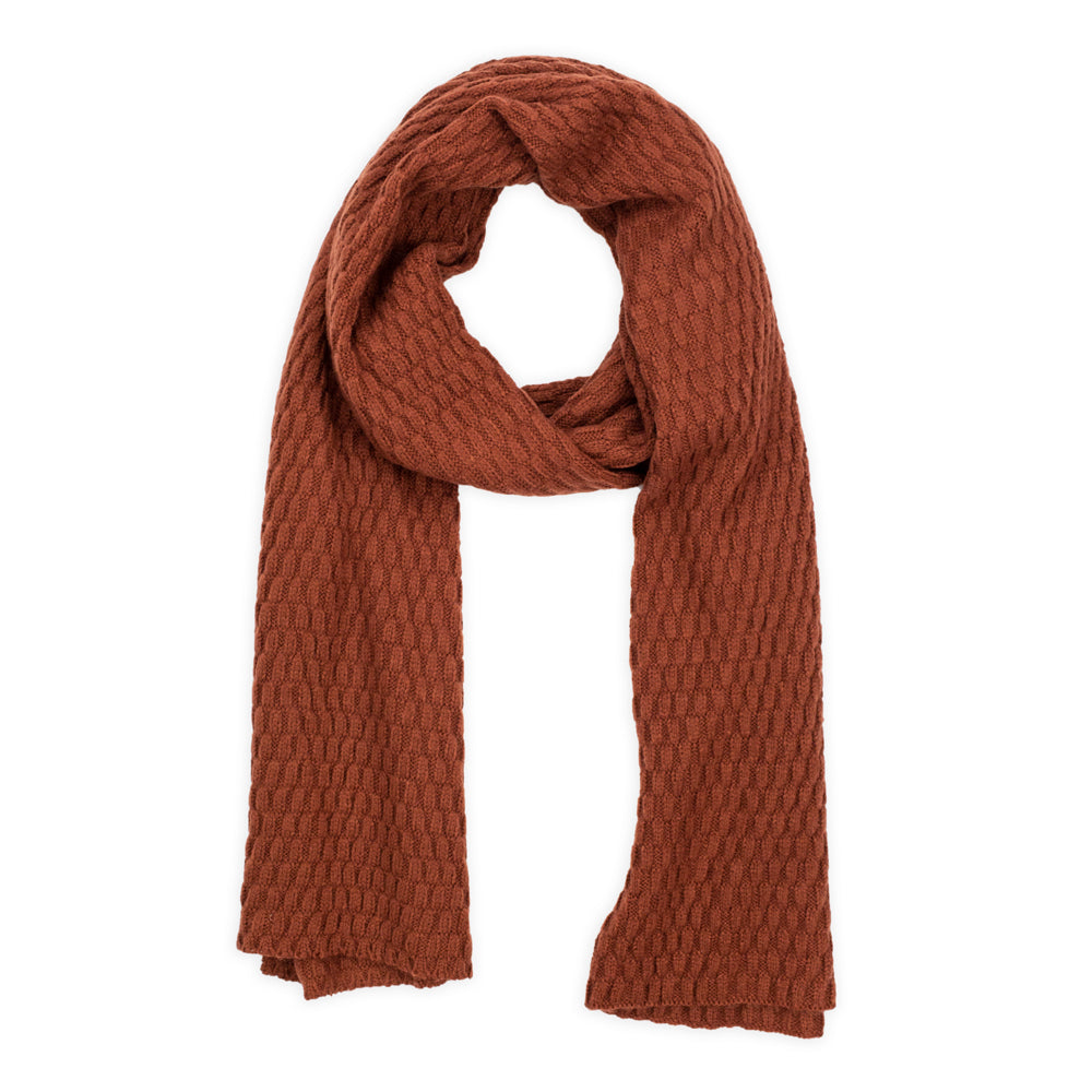 Marlow Scarf in Burnt Orange by Mint and Moss