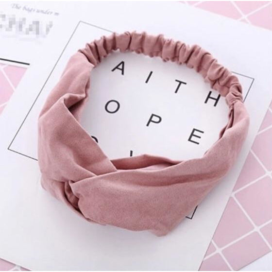 Soft Headband in Pink