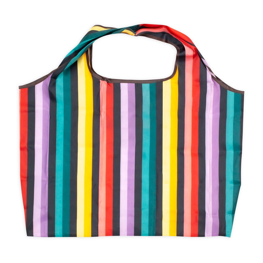The Striped Re-useable Shopping Bag