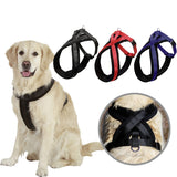 Dog Harness Padded Strong Nylon Retractable Soft Harness For Dog Supplies Accessories For Large Dog Harness without Collar Leash