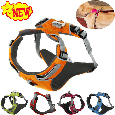 2017 NEW Reflective Dog Harness Accessories Pet Dog Training Vest for Small Large Dogs Adjustable Professional Harness 5 Colors