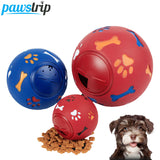 3 Size Rubber Ball  Chew Toys and Treats Dispenser