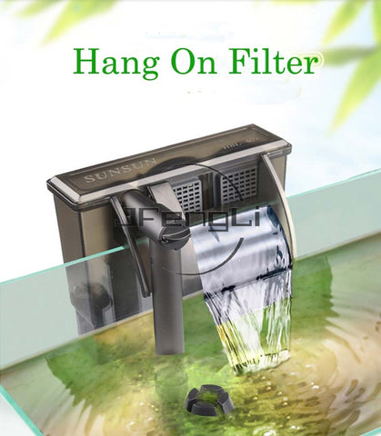 External 3 in 1 filter water pump waterfall equipment