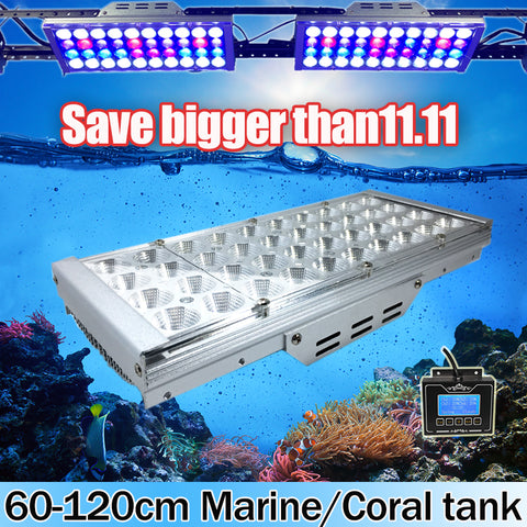 Programmable full spectrum aquarium led lighting