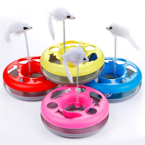 Turntable Pet Interactive Toys
