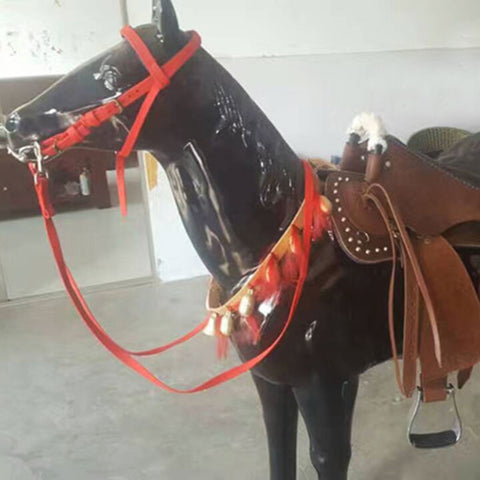 Pure Copper Horse Neck String Bell Horse Small Bell String Horse Riding Racing Equipment Cheval Equestrain Paardensport