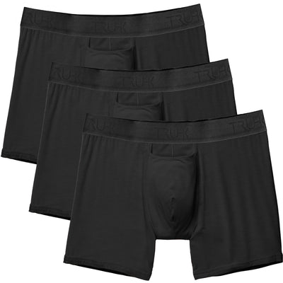 3 PACK - TRUHK - Black Pouch Front Boxer STP/Packing Underwear
