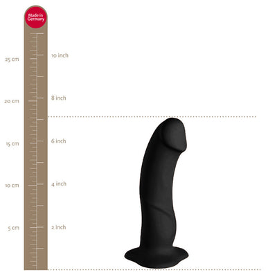 "7"" Fun Factory Boss Dildo - Black"