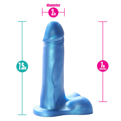 "7"" Champion Super Soft Dildo"