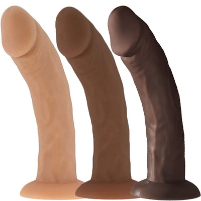 "7"" FUZE - Freddie Dildo - Suction Cup Base"