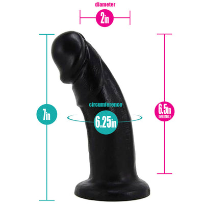 "6.5""-Large-Realistic-Bent-Silicone-Dildo-by-Vixen-Creations-RodeoH"