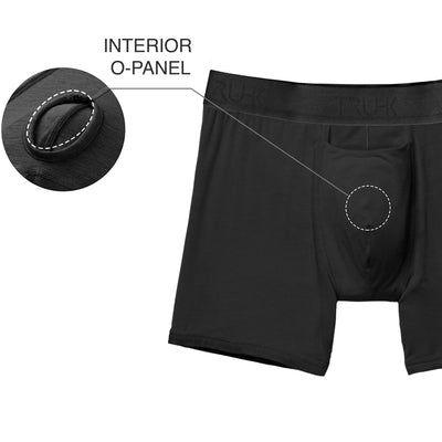 3-Pack - TRUHK - Black Pouch Front Boxer STP/Packing Underwear