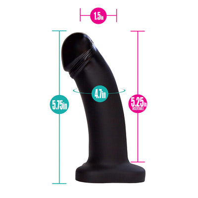 "Pleasure Kit - Crotchless Panty Purple and 5"" Dildo"