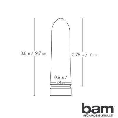 Bam Silicone Bullet Vibe by Vedo - Rechargeable