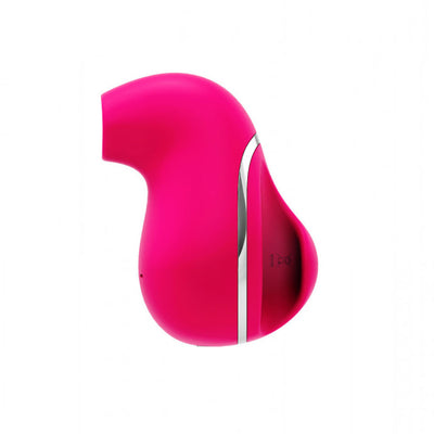 Suki Silicone Stimulator by Vedo - Rechargeable - Hot Pink