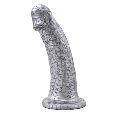 "6.25"" Woody Dildo - Chrome"